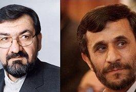 مناظره انتخاباتی محمود احمدی نژاد و محسن رضایی