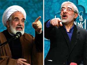 مناظره انتخاباتی مهدی کروبی و میرحسین موسوی + دفاعیات احمدی نژاد